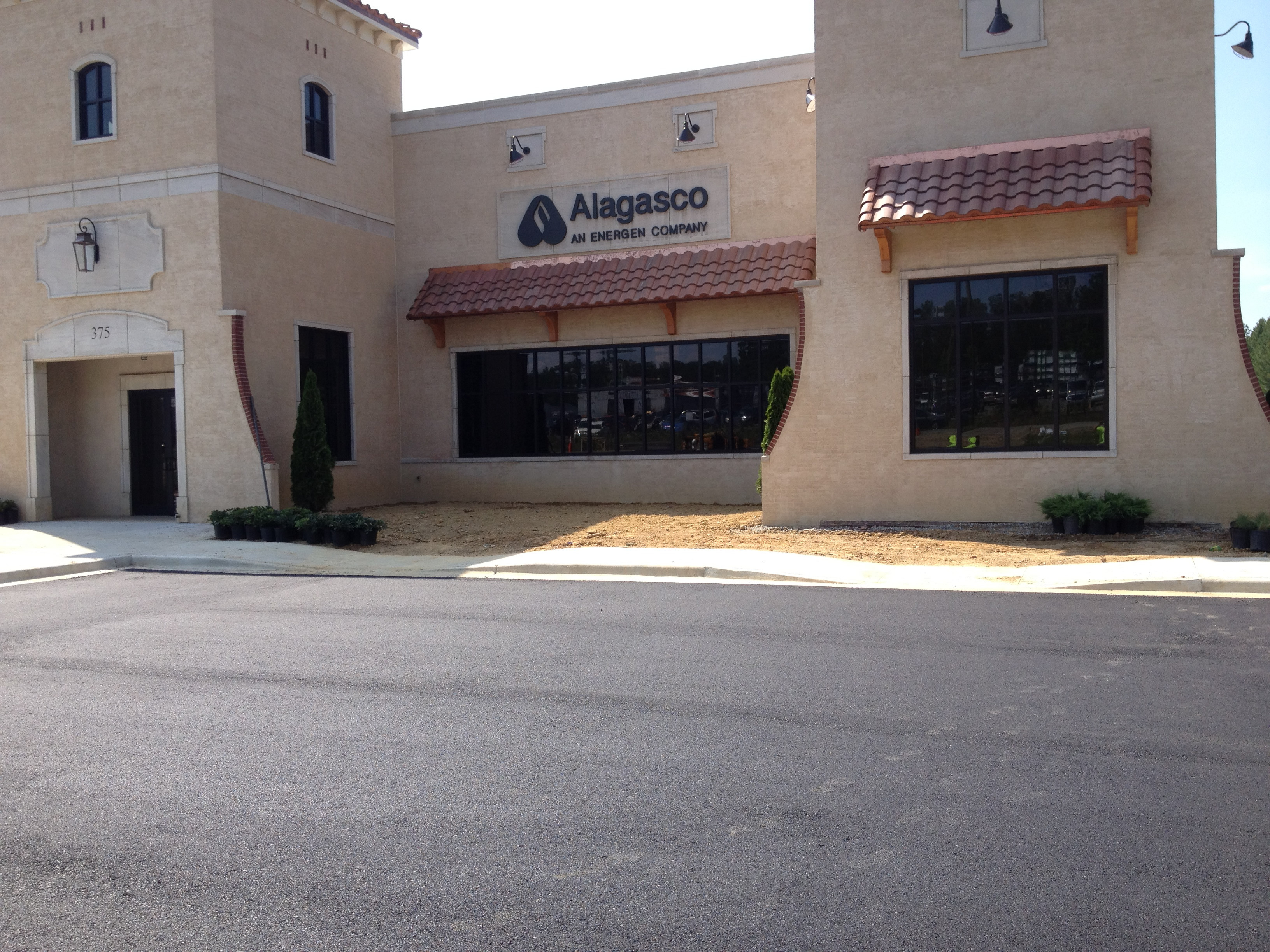 Alagasco Asphalt Parking Lot Maintenance