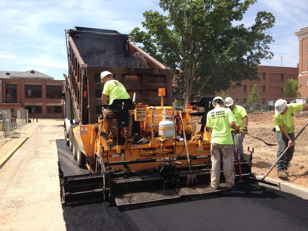 Auburn University Asphalt Patching