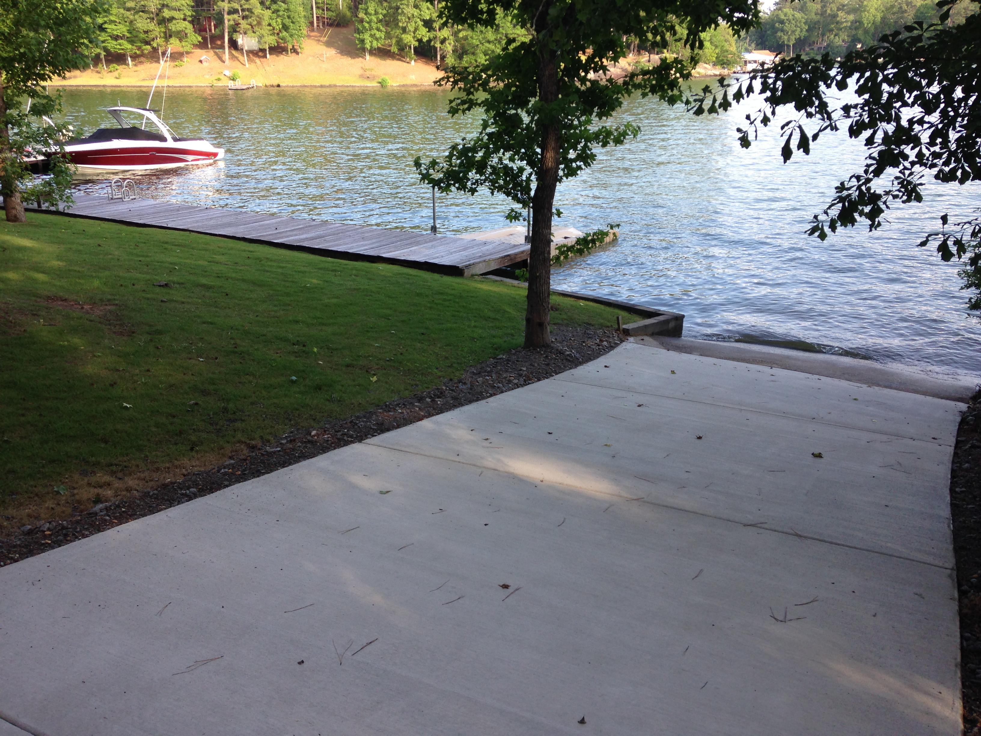 Concrete Driveway Lake Martin