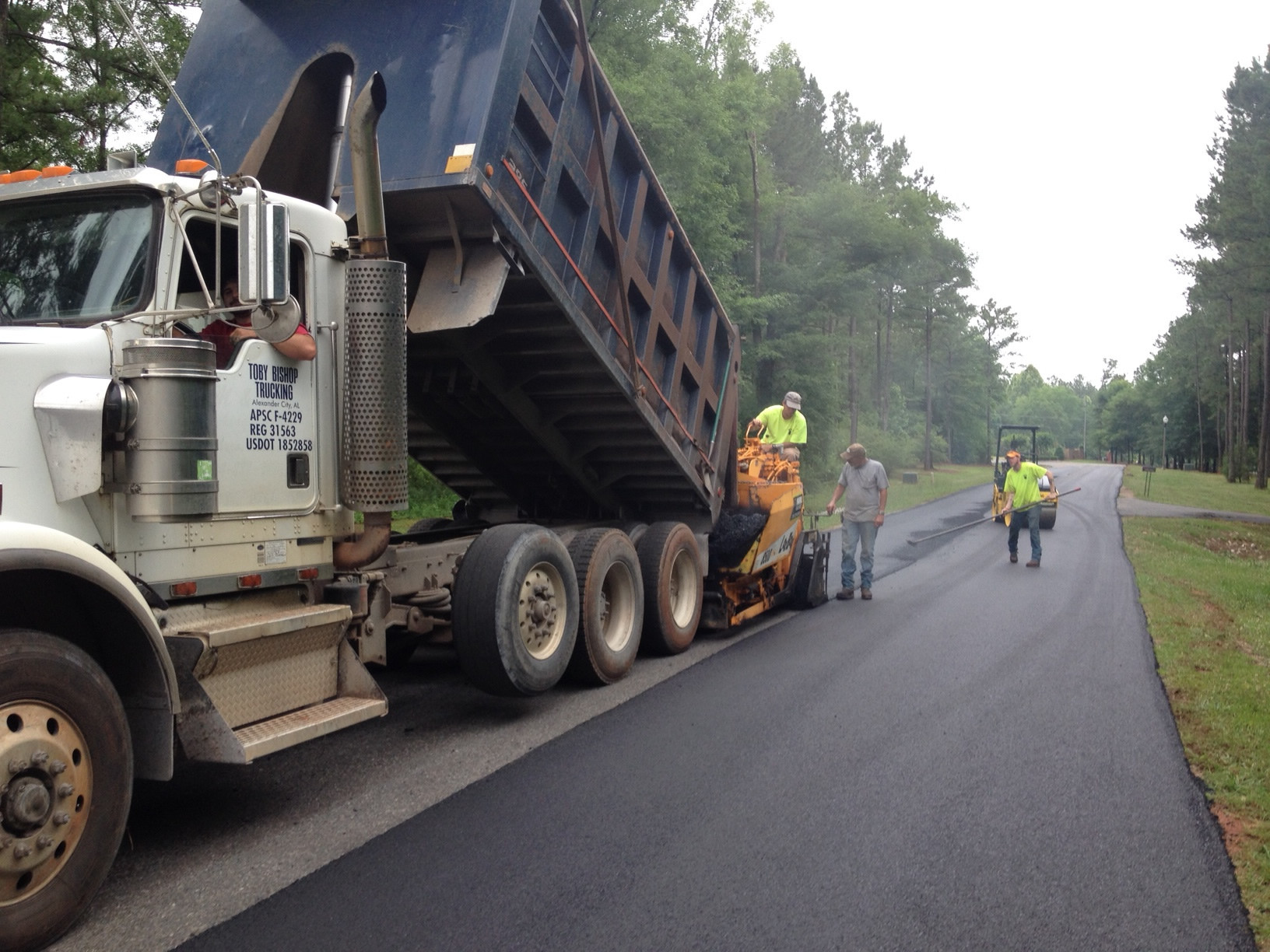 Private Road Paving Elmore County