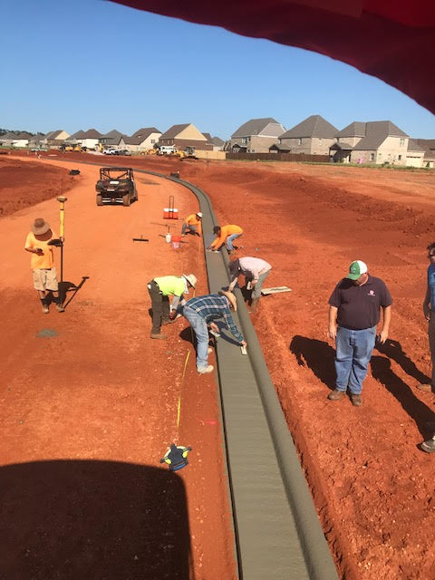 Curb And Gutter Hare Paving Amp Contracting